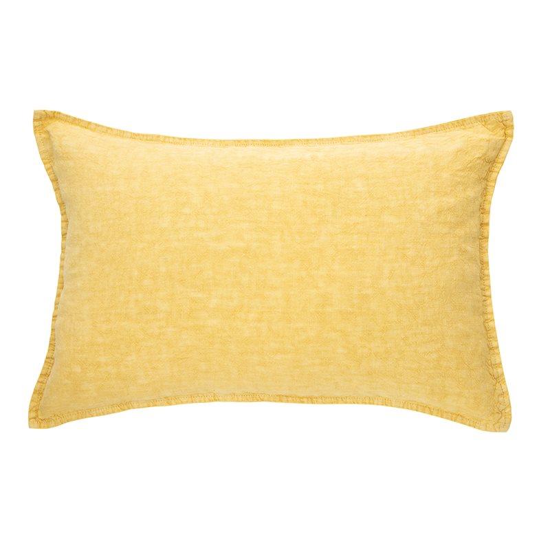 Linen stone wash jaune