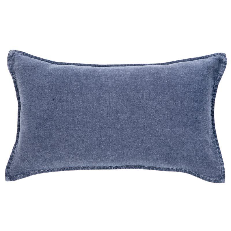 Linen stone wash navy