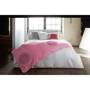 Amore pink duvet cover