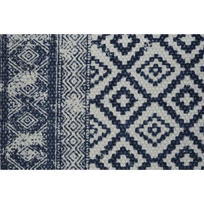 Slavia blue indian style rug