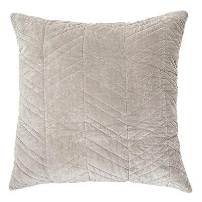 Velours grey cushion