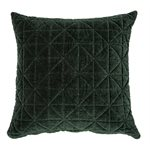 Velours green cushion