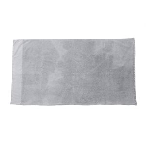 Stone Wash soft grey hand towel