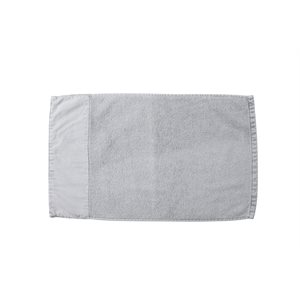 Stone Wash soft grey guest towel
