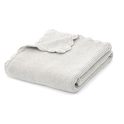 Aladin grey baby blanket