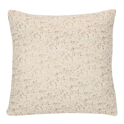 Glitter ivory cushion