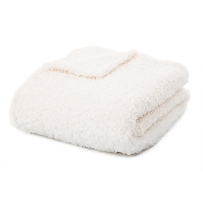 Jeté faux mouton Fleece