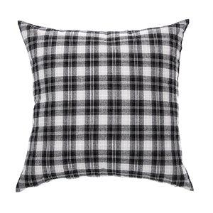 Billy black european pillow