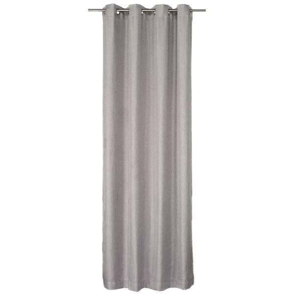 Bachelor grey curtain panel