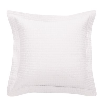 Rustic white cushion cover