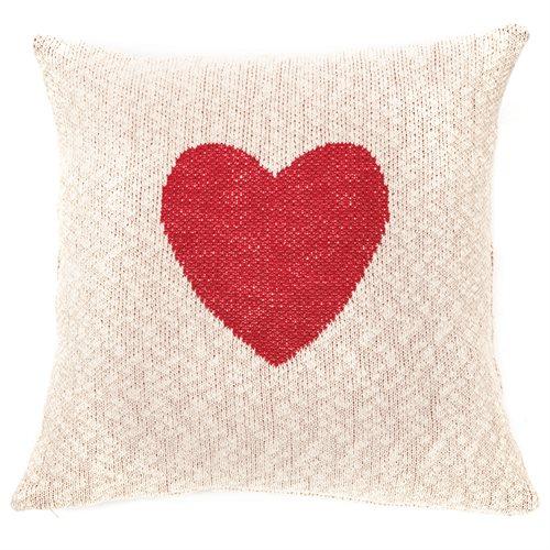 Elsa cushion with a heart