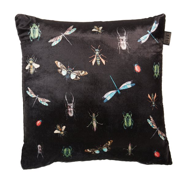 Coussin noir Insects