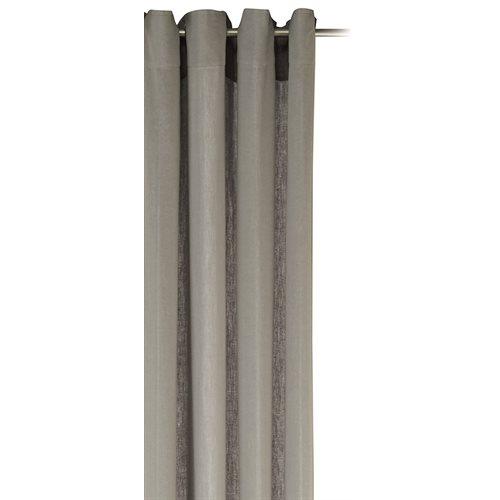 Linette linen grey curtain