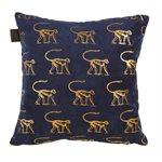 Monkey blue cushion