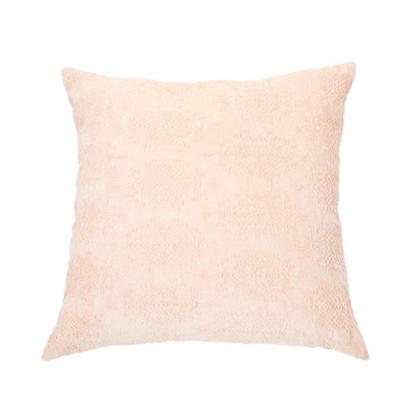 Toro soft pink european pillow