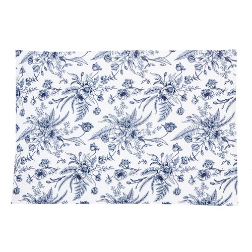 Vintage flowered placemat