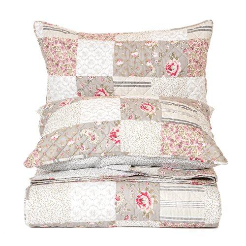 Aziza flowered quilt