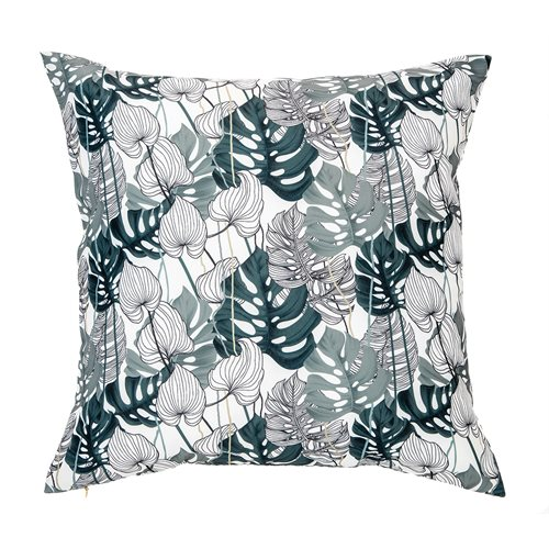 Coussin feuillage monstera Bayou