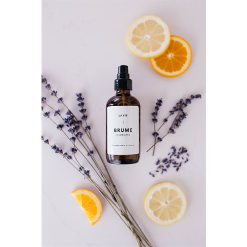 Lavander-orange room spray