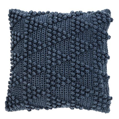 Bubble navy cushion