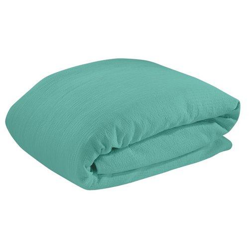 Housse de couette turquoise Bungalow