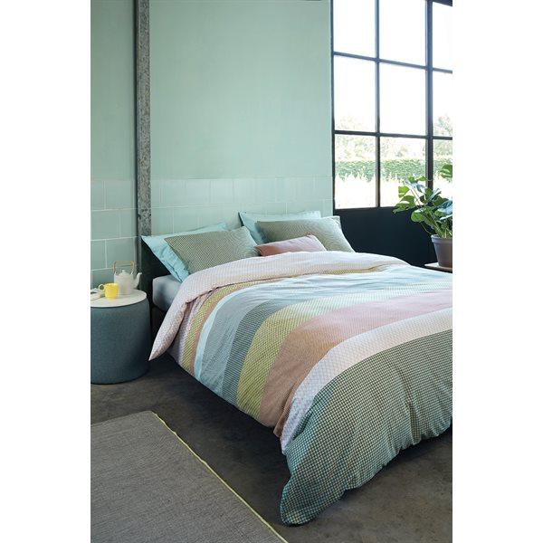 Cilantro pastel duvet cover