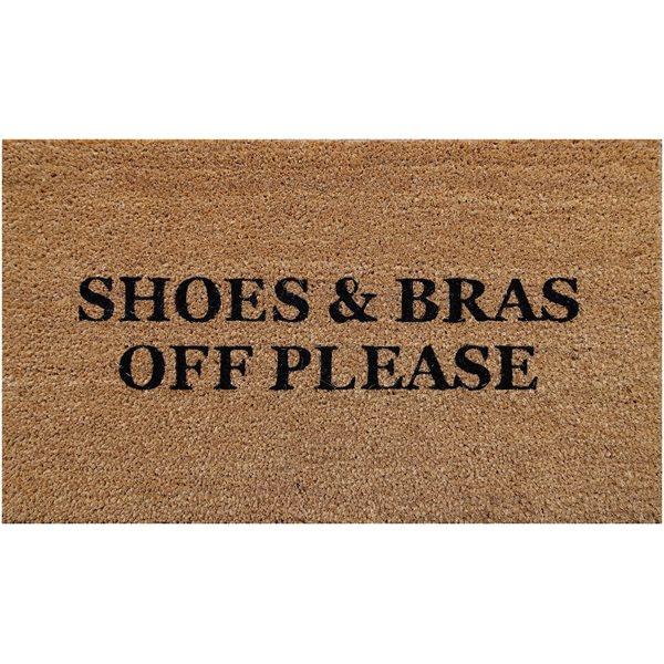Shoes & Bras ... coco rug