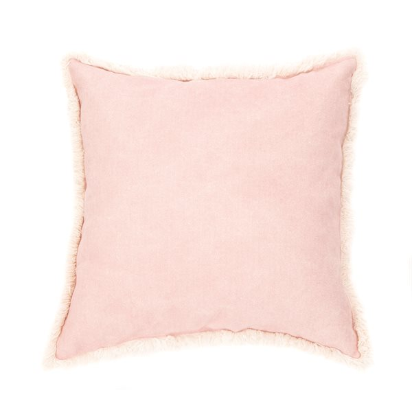 Coussin rose Cotton Candy