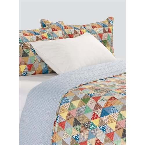 Gina colorful quilt