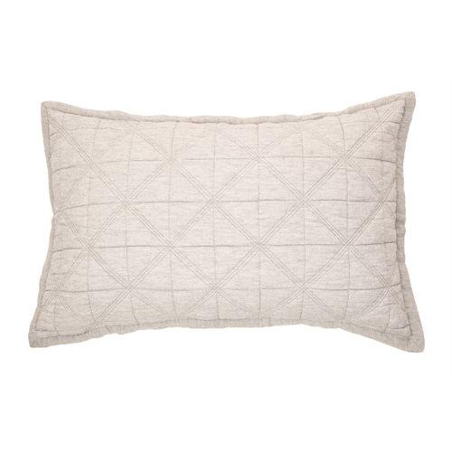 Grigio grey pillow sham