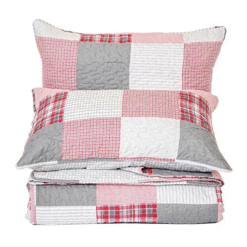 Lodge plaid quilt