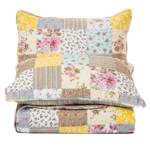 Loona flowered quilt