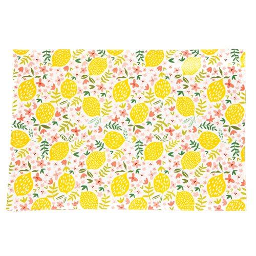 Meyer lemon placemat