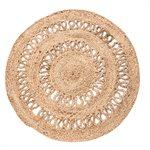 Sesame round rug