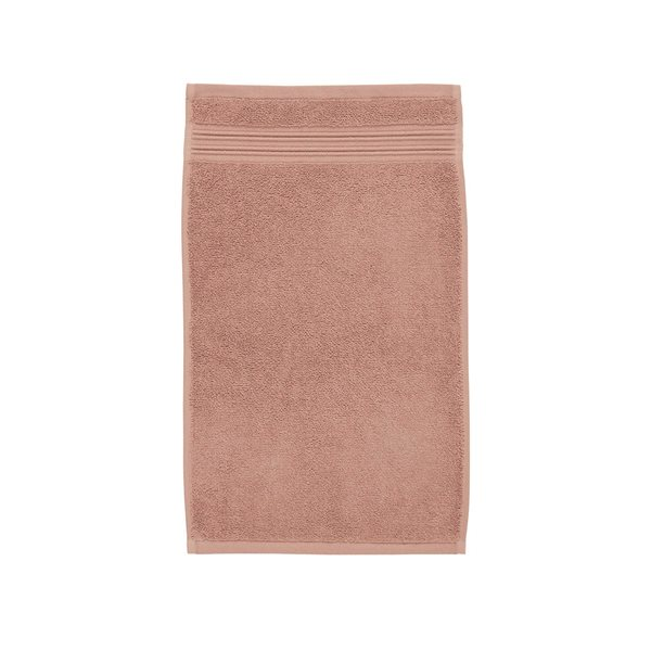 Spa pink guest towel