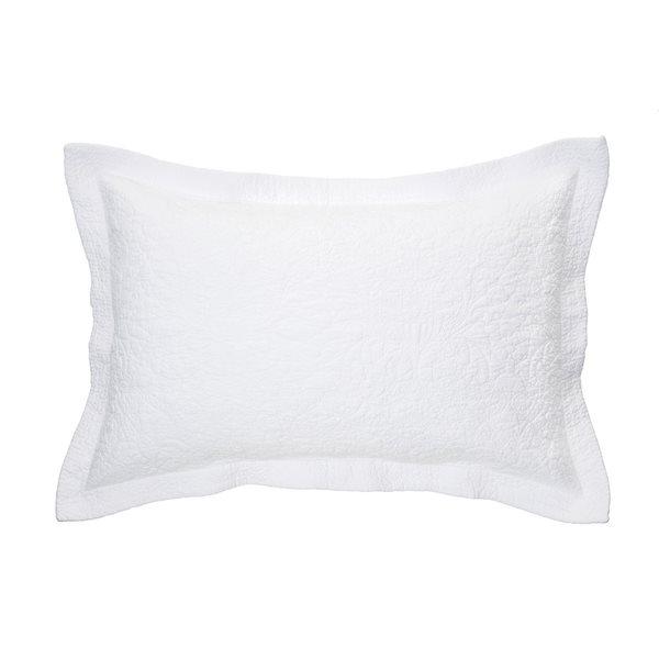 Cache oreiller blanc Taylor