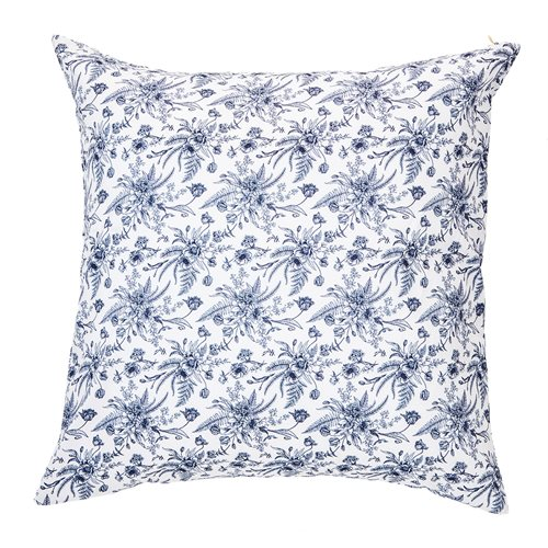 Vintage flowered cushion
