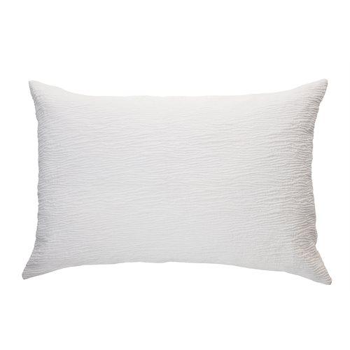 Cache oreiller blanc Westmount